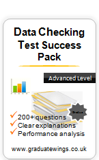 Data Checking Success Pack (4 Tests)