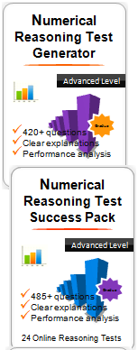 Numerical Reasoning Practice Test Pack - Access to All Numerical Tests