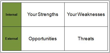 career swot analysis
