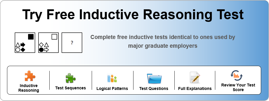 Common Inductive Reasoning Test Patterns - graduatewings co uk